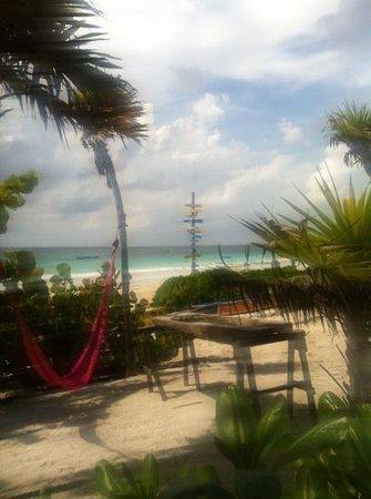 Playa Esperanza: desde la terraza planta baja Josefa