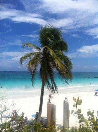Playa Esperanza: vista Josefa