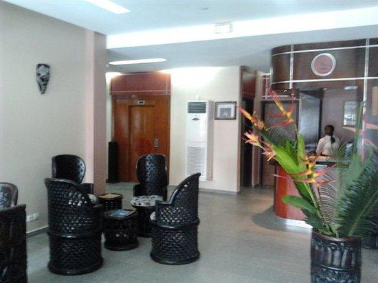 Planet Hotel: Le lobby accueillant