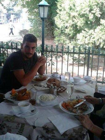 Vuk: enjoy your meal!