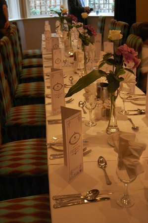 Fitzgerald's Vienna Woods Hotel : Beautifully Decorated Table