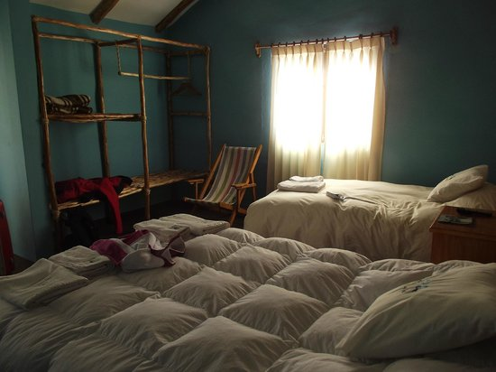 Colca Llaqta Hotel: morbidi e caldi piumoni