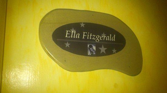 Blue Moon Hotel: the ella fitzgerald room