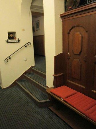 Hotel Garni Pension Freisaal: particolare ingresso