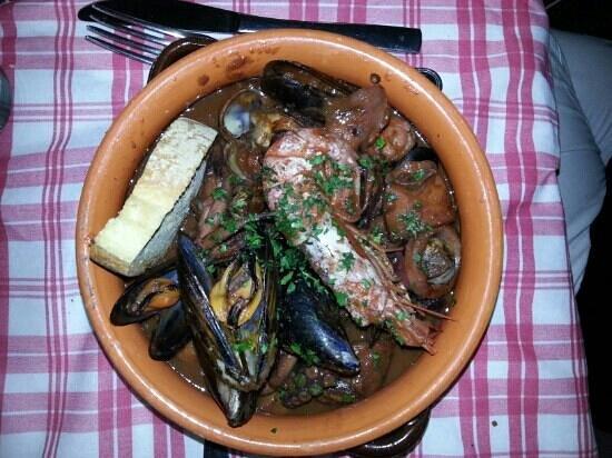 Osteria dai Toscanacci: cacciucchino