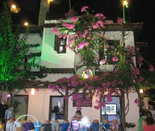 Dream Hotel: Kalkan at night