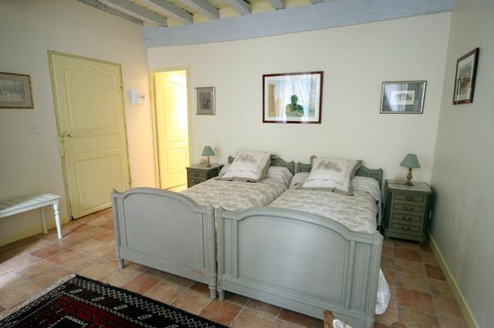 Chambre mablord avec salle de bain et wc privatif 2 lits - Chambre avec salle de bain ouverte ...