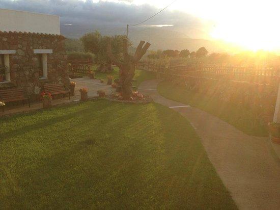 Belvedere Pradonos : Blick von der Terrasse
