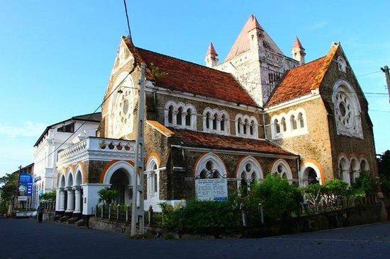 All Saints Anglican Church : The church at 7am
