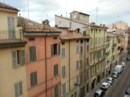 Sina Maria Luigia: view from the room