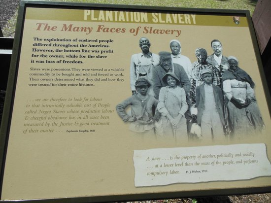Kingsley Plantation : one of the info spots