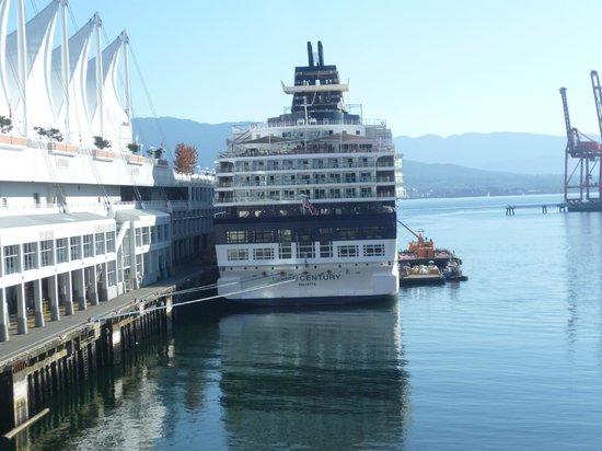 Patricia Hotel: Imbarco Crociere