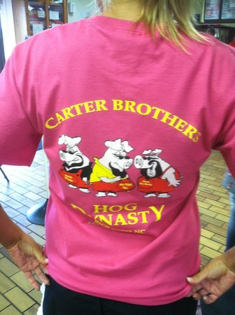 Carter Brother's BBQ & Ribs: T-shirt I bought for my daughter :)