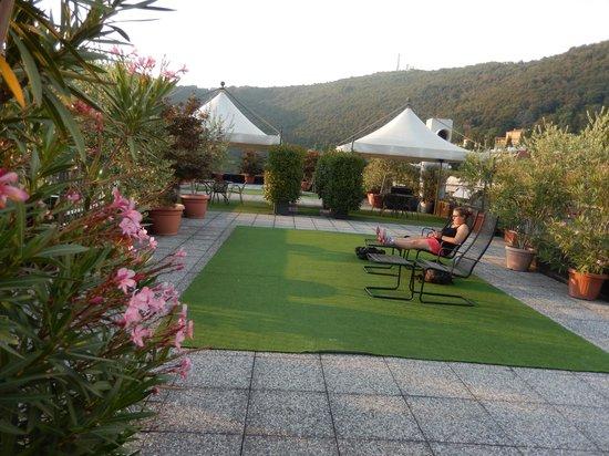Ostello di Bergamo : terrace