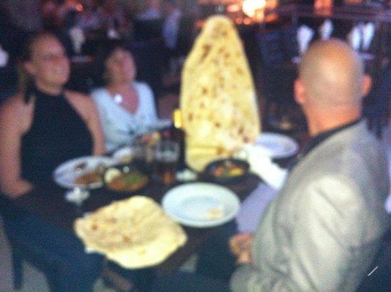 Lala's Restaurant: Huge family Nan