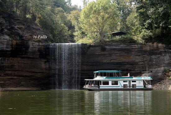 Grider Hill Dock Indian Creek Lodge : 76 falls