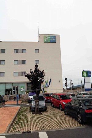 Holiday Inn Express Vitoria : Main entrance