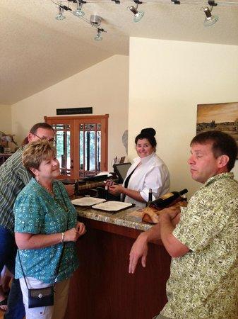 Natalies Estate Winery: Tasting with Cassandra