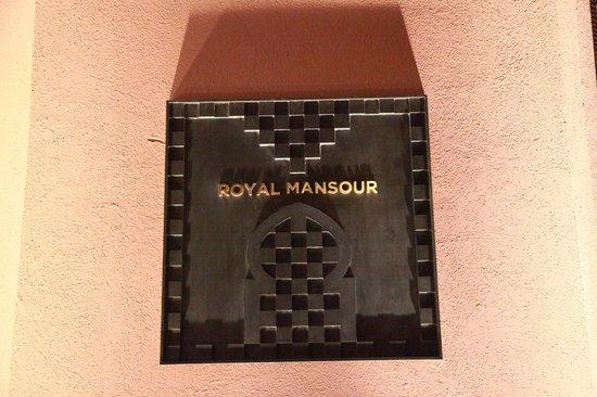 Royal Mansour Marrakech : royal mansour