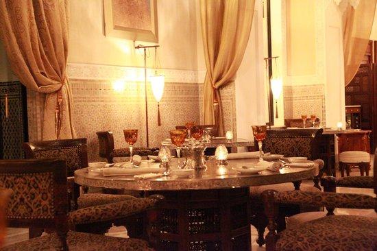 Royal Mansour Marrakech : la mesa