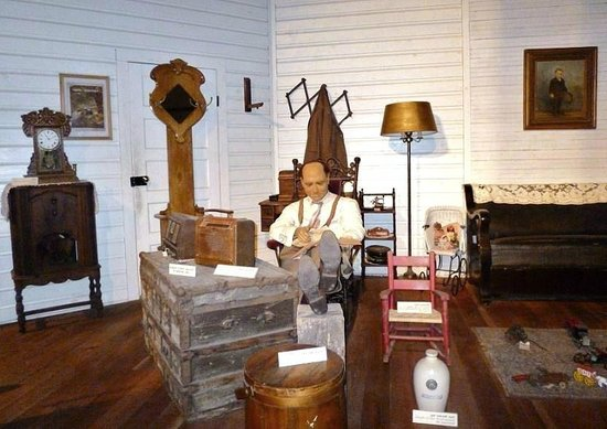 Mississippi Agricultural & Forestry Museum: Pan domu