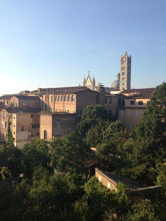 Hotel Duomo room view, Siena, Italy