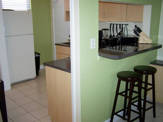Gulf Winds Resort Condominium: unit 705 - counter/kitchen