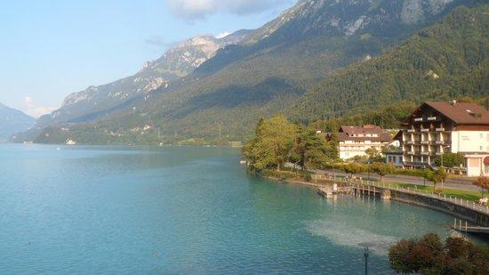 Hotel Seiler au Lac: vue de la chambre le matin