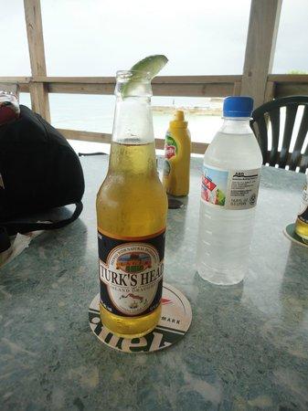Turk's Head beer - the local beer - tasted like Corona or Landshark