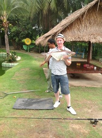 Hua Hin Fishing Lodge: small catfish