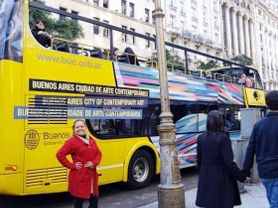 Buenos Aires Bus: Embarque