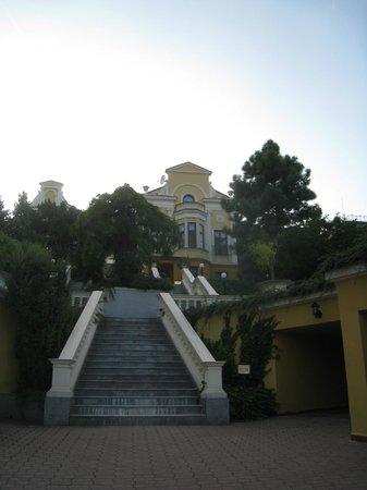 Parkhotel Brno: stairs to go ...