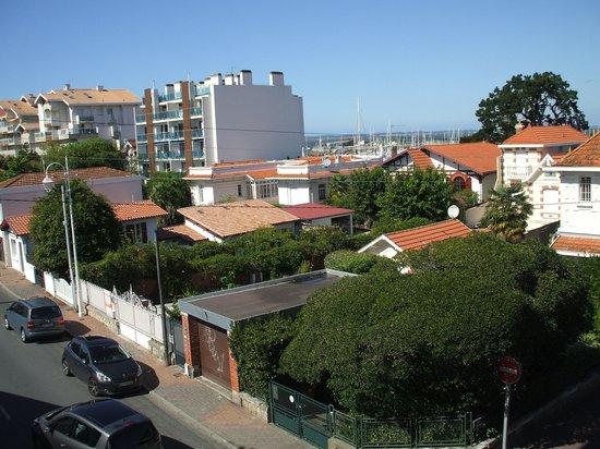 HOTEL LE NAUTIC : vue du balcon