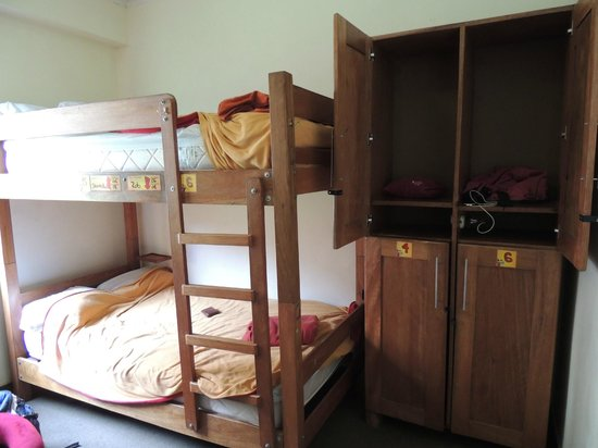Pariwana Hostel Lima: The 6 bed dorm room we stayed in for 2 nights