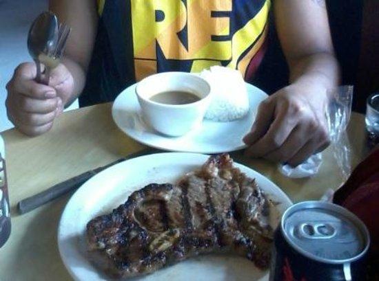 Huge Steaks, Small Rice - Snackaroo, Quezon City