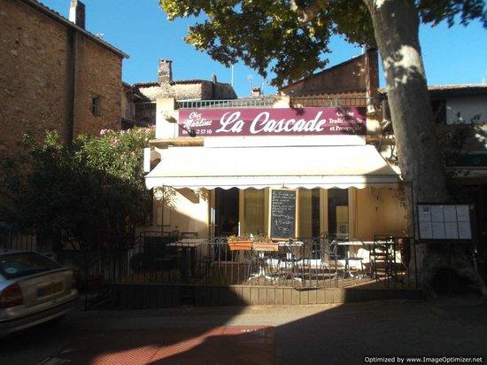 Original la cascade in main street picture of restaurant for Restaurant la cascade