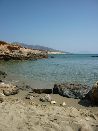 Faros Villa: We nicknamed this as our 'private beach', as we had it to ourselves