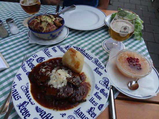 Altes Gasthaus Leve: Yummy!