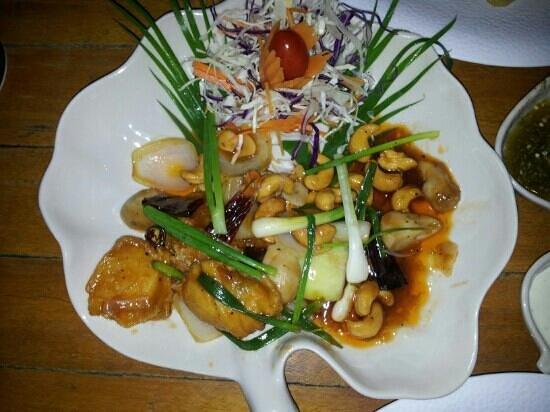 Kob Thai Restaurant: Poulet noix de cajou
