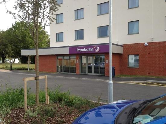Premier Inn Gosport Hotel Reception Area