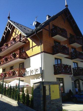 Pensjonat Gaborek: L'esterno dell'Hotel