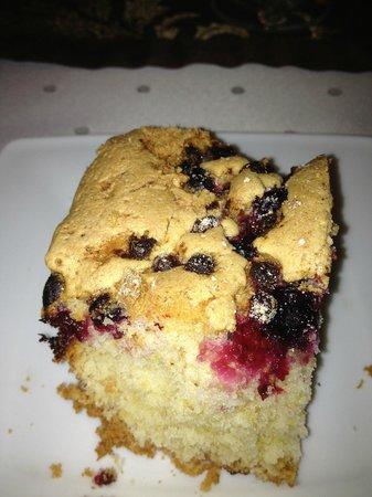 Pensjonat Gaborek: Torta con mirtilli