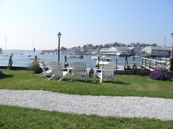 Boothbay Harbor Inn : View from Restaurant Patio