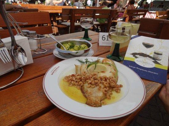 Bremer Ratskeller: Fresh fish