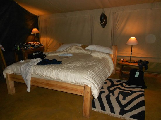 Olumara Camp: There was also a large single bed in the room