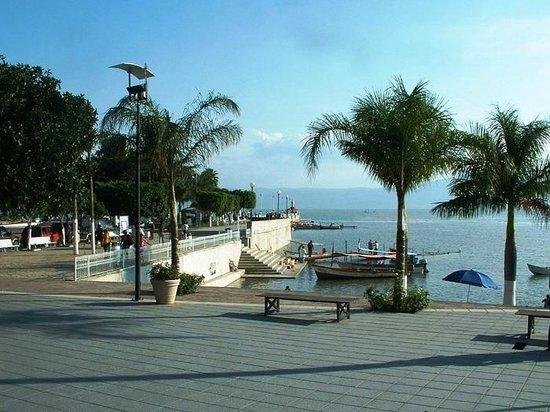 Hotel Balneario San Juan Cosala: The marina in town