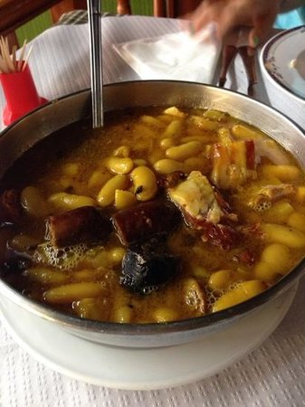 Nueva Iberica: Fabada para dos en el menú del día