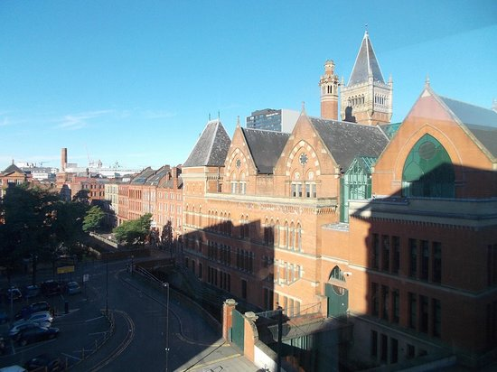 DoubleTree by Hilton Manchester Piccadilly: View from room 423