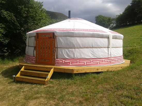 Mid Wales Tipis: In the Yurt
