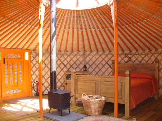 Mid Wales Tipis: The Mongolian Yurt